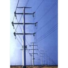220 Kv Steel Transmission Tubular Tower pictures & photos