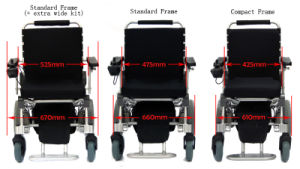 Foldable E-Wheelchairs pictures & photos