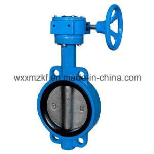 Gear Operated Soft-Sealed Butterfly Valve pictures & photos
