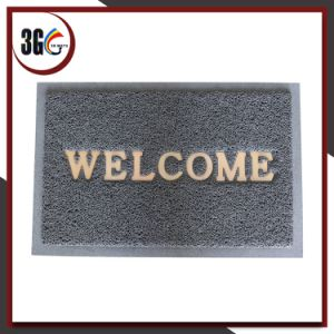 3G PVC Door Mat with Welcome pictures & photos