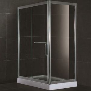 High Quality 8mm Tempered Glass Square Shower Bath Enclosure (SR903) pictures & photos