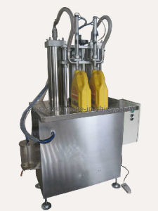 Semi-Auto Double Heads Filling Machine for Liquid FM-Sdv