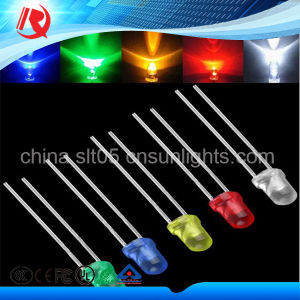 2016 Good 5mm Warm White High Brightness Water Clear LED pictures & photos
