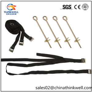 Galvanized Tie Down D Ring Strap Auger Earth Anchor pictures & photos