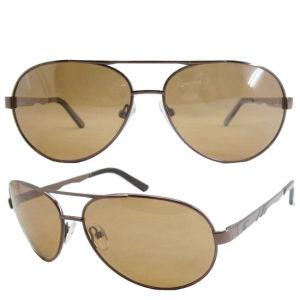High Quality Metal Frames Polarized Sunglasses (SM606093) pictures & photos