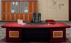Arc-Shaped Antique Executive Table- CEO Office Desk (HF-LTA002) pictures & photos