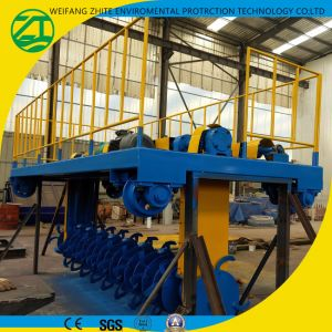 Self-Propelled, Low Energy Consumption of Organic Fertilizer Turning Machine pictures & photos