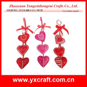 Valentine Decoration (ZY13L916-1-2-3) Valentine Love Hanging Ornaments pictures & photos