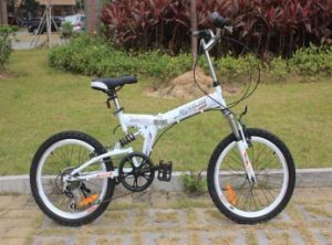 High-Carbon Steel 6 Speed Folding City Bike 20 Inch pictures & photos