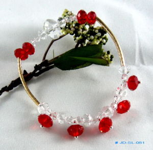 Custome Crystal Bracelet in Crystal Jewelry pictures & photos
