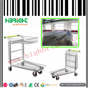 Nestable Cash and Carry Folding Warehouse Trolley Cart pictures & photos