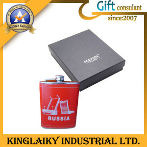 Portable Newest Design Gift Stainless Steel Flask (KF-004) pictures & photos