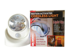 LED Motion Activated Cordless Light pictures & photos