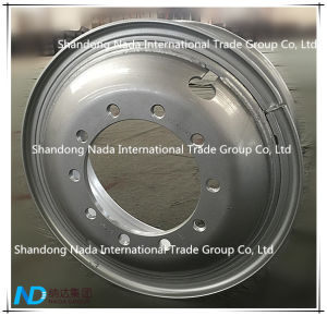 13.00-22.50 Tubeless/5.5-8.5 Tube Rim TBR Truck Steel Wheel with Ts16949/ISO9001: 2000 pictures & photos
