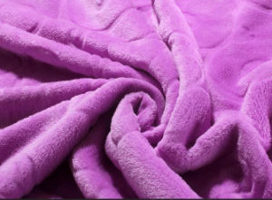 100% Polyester Super Soft Coral Fleece Blankets pictures & photos