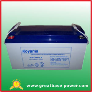 150ah 12V High Quality Lead Acid Battery SMF Battery pictures & photos