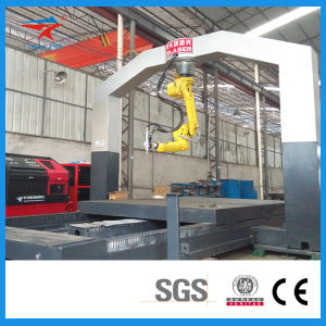 Gantry Structure Inversion of Manipulator Laser Cutting and Welding Machine pictures & photos