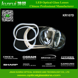LED Lens for High Power Integrated Light Source Street Light (KR107D)