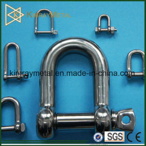 AISI316 Stainless Steel Oversize Screw Pin Chain Shackle pictures & photos
