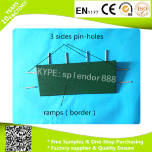 Rubber Border with Pin-Holes for Rubber Flooring Edge pictures & photos