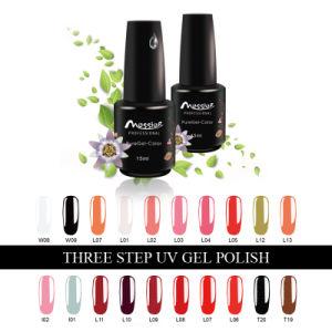 Long Lasting Professional Nail Art 184 Kinds Colours 15ml Three Steps UV Gel Polish Nail Gellack
