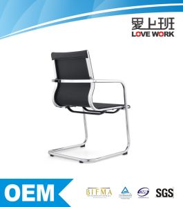 Modern Black PU Leather Office Chair Dining Chairs Meeting Chair pictures & photos