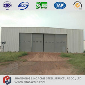 Sliding Door Portal Frame Structure Aircraft Hangar pictures & photos