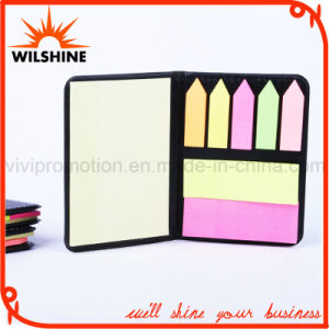 PU Note Pad with Sticky Post Tips for Promotion (PN236) pictures & photos