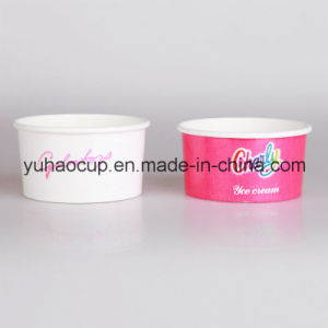 6oz Hot Selling Ice Cream Cup (YHC-012) pictures & photos