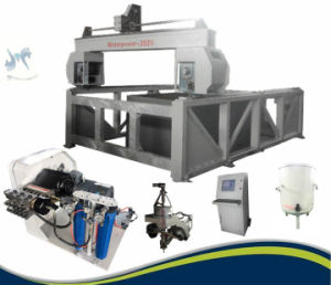 CNC Water Jet Cutting Machine (YH1515S) pictures & photos