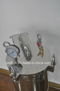 Vertical Stainless Steel Bag Type Water Filter pictures & photos