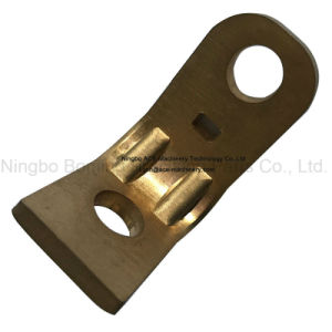 OEM Precision Stamping Part of Copper Bracket pictures & photos