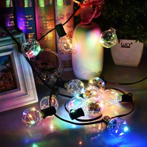 Decoration Light G40 Multicolored Globe LED Waterproof String Lights for Garden pictures & photos