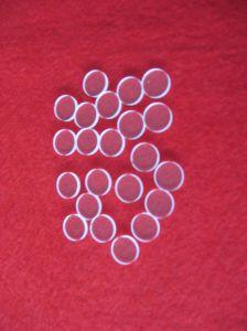 High Purity Circular Shape Clear Quartz Plate pictures & photos