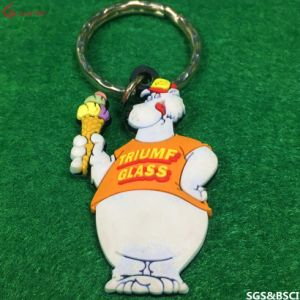 Made in China Custom Promotion PVC Rubber Key Chain pictures & photos