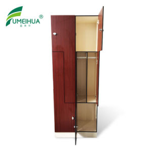 4 Doors HPL Laminate Resin Gym Locker for Denmark Club pictures & photos