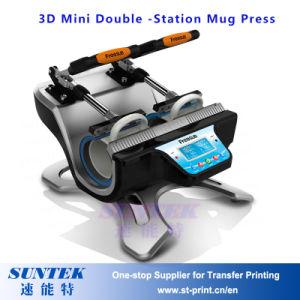 Digital Five Posts Heat Press Mug Machine pictures & photos