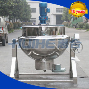 Steam Heating Jacketed Cooking Mixer (50-1000L) pictures & photos