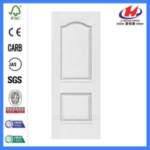 Flush MDF HDF Flat White Primer Door Skin (JHK-M01) pictures & photos