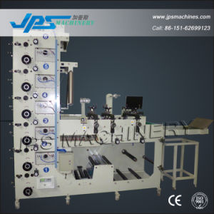 Jps480-6c-B Logistics Sticker Label Roll to Roll Printing Machine pictures & photos