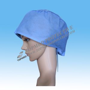 Nonwoven Surgical Cap or Surgical Hat pictures & photos