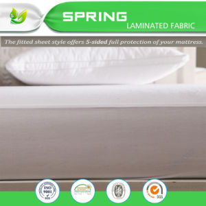 Gold Supplier Anti Bacterial Terry Waterproof Mattress Protector pictures & photos