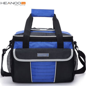 Non-Woven/Polyester Custom Food Portable Folding Picnic Insulated Lunch Cooler Bag pictures & photos