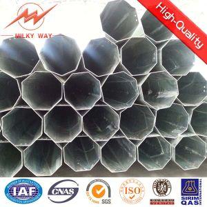 Tubular Transmission Line Steel Poles pictures & photos