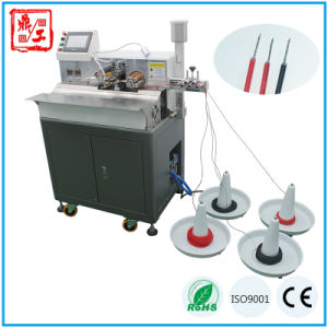 Full Automatic Wire Cable Harness Cutting Stripping Twisting and Tinning Machine pictures & photos