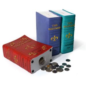 Polyresin European Bus Money Saving Box Coin Bank Gift and Decoration pictures & photos