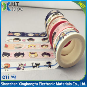 China Supplier Masking Paper Tape Adhesive Decorative Washi Tape pictures & photos