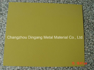Stucco Diamond Embossed Color Coated Aluminium Coil for Roofing pictures & photos
