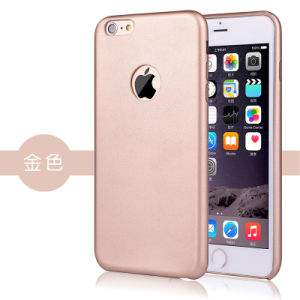 Mobile/Cell Phone Case Slim Ultra-Thin PU Leather Cell Phone Case Cover for iPhone 6 pictures & photos