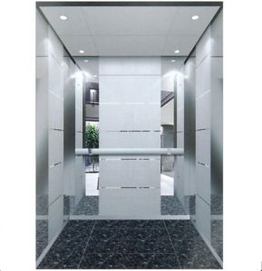 Energy Saving Passenger Elevator with Small Machine Room (TKJ-Q09) pictures & photos